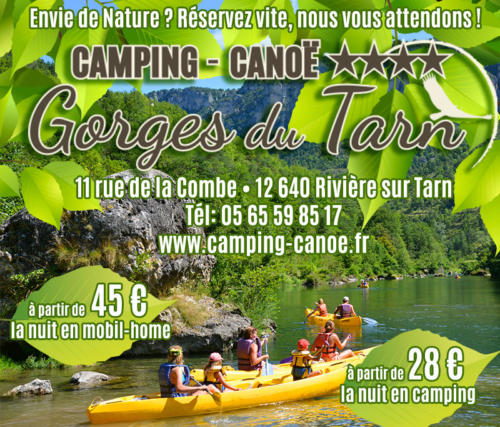 camping-canoe-gorges-du-tarn