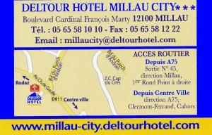 DELTOUR HOTEL MILLAU CITY